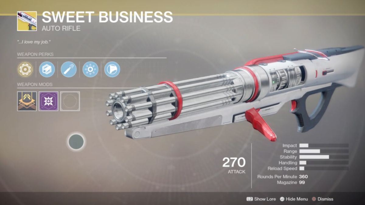 Destiny 2 Xur Location Weapons And Armour Oct 20 27th Should You Buy Sweet Business