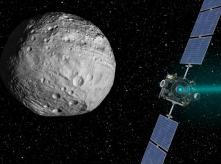 Dawn Set to Leave Protoplanet Vesta 1920