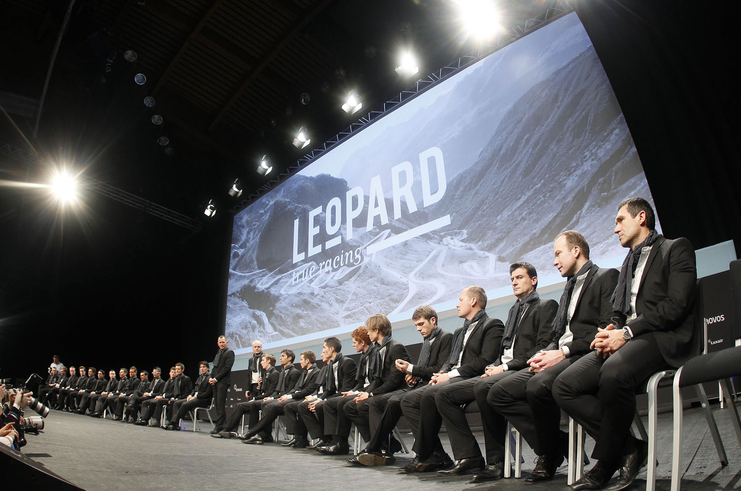 Team Leopard-Trek team presentation, January 2011