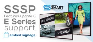 embed signage SSSP Support Update