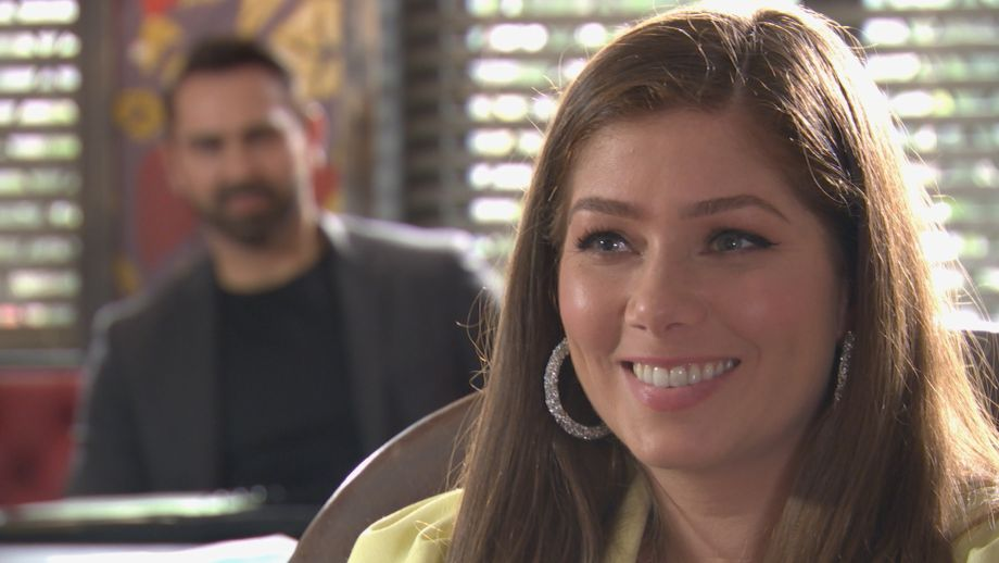 Week 3 Maxine Minniver and Brad in Hollyoaks