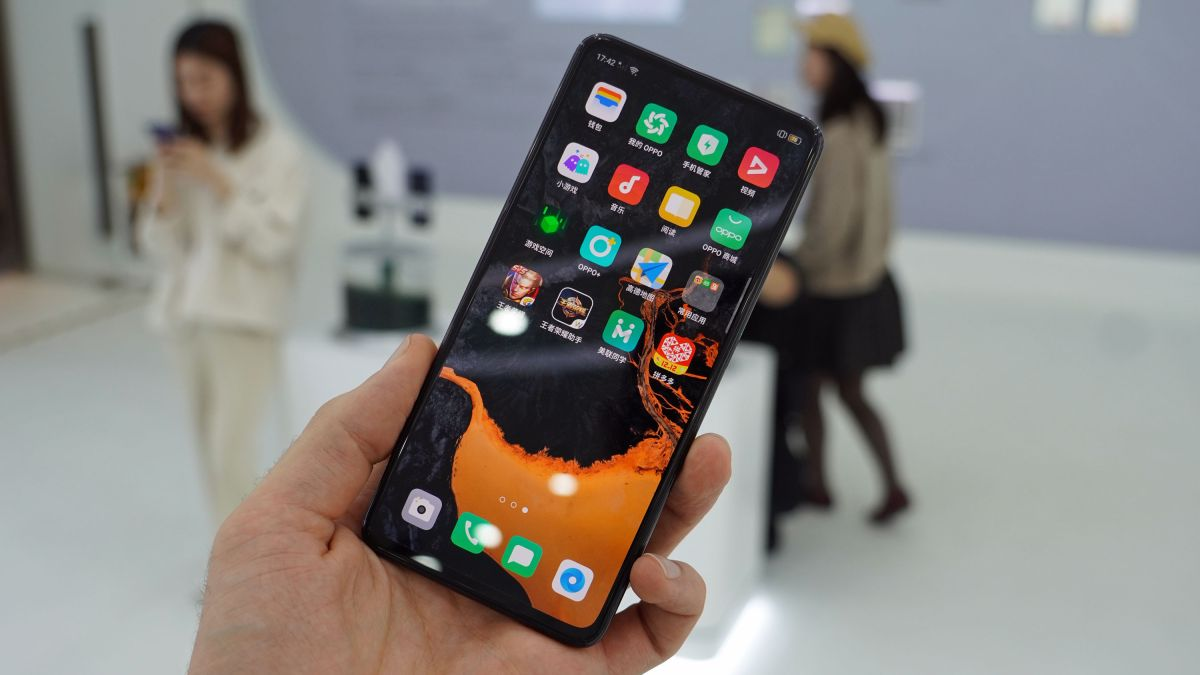 This phone of the future has no buttons, ports, bezels or visible selfie camera