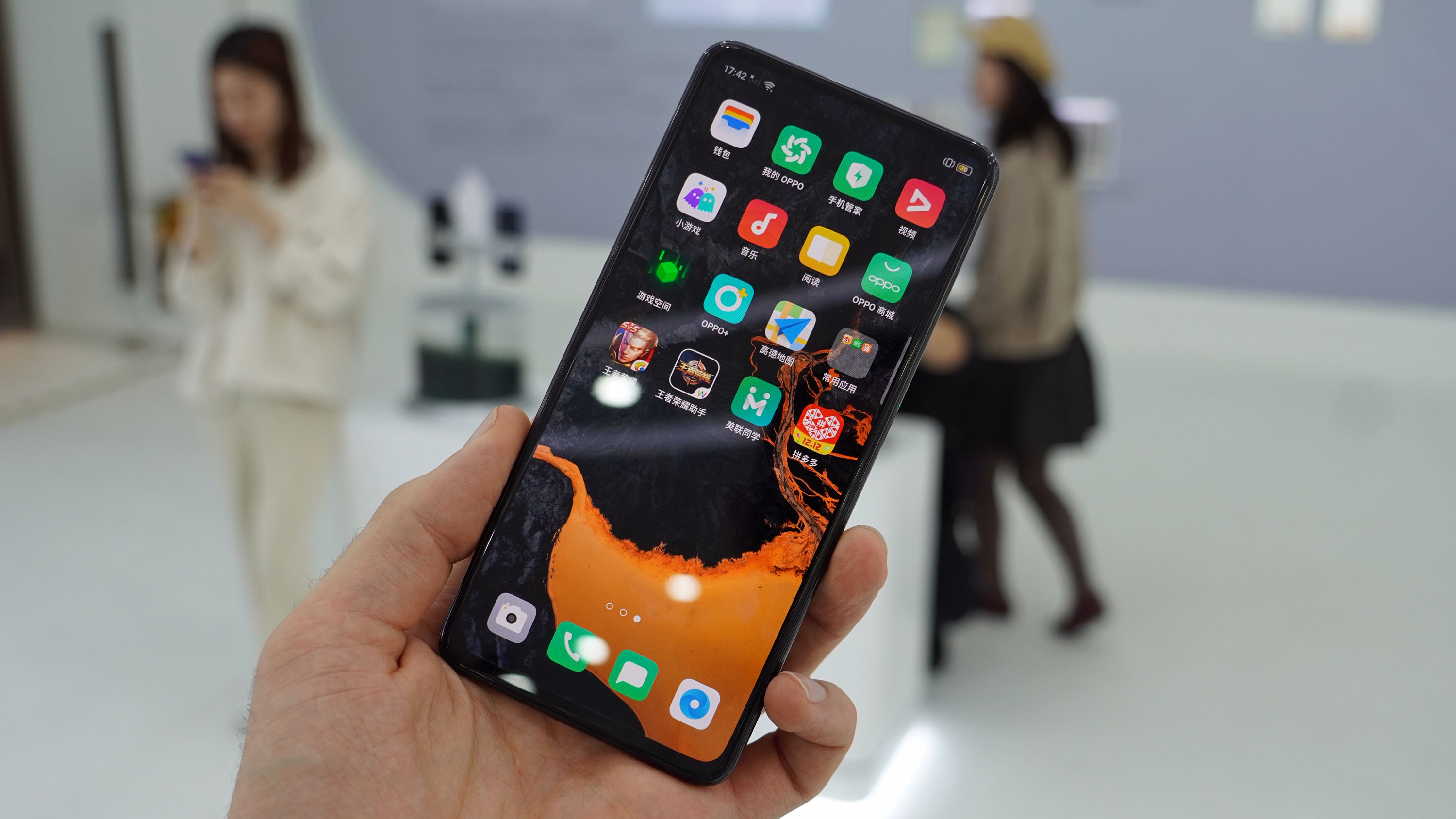 Best Non Smartphone 2021 This phone of the future has no buttons, ports, bezels or visible