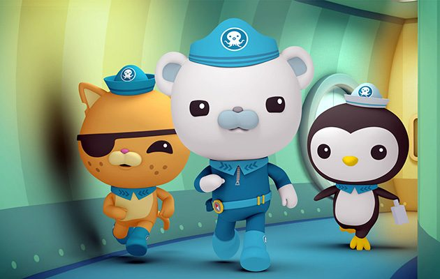 best shows for 5 year olds - Octonauts