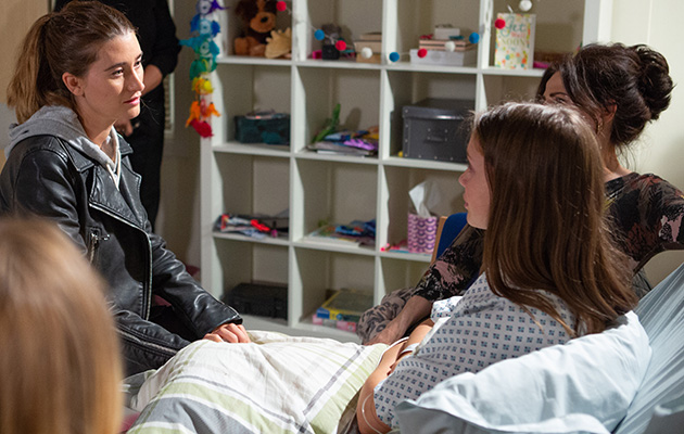 Emmerdale spoilers! Debbie Dingle fears for her daughter Sarah's life as a heart donor is found