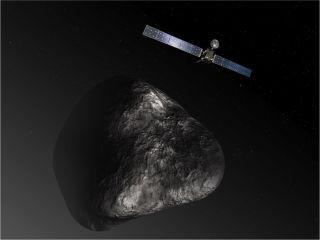 Rosetta plunge to Comet 67P conception