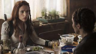 "Scarlett Johannson as Natasha Maximoff in ""Black Widow."""