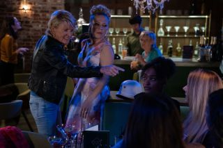 EastEnders Shirley Carter comes face-to-face with Shelley