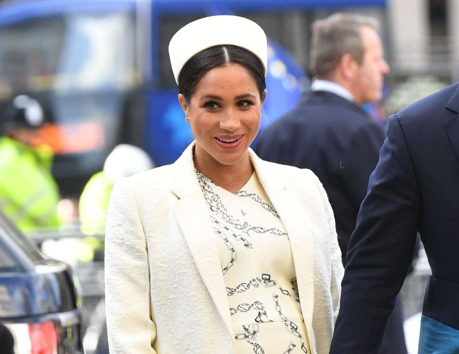 Marks & Spencer is launching an amazing dupe of Meghan's skirt for just £25