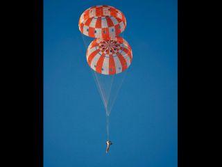 Orion Parachute Drop Test