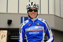 Noemi Cantele ready for the Valkenburg Worlds.
