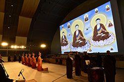 ETC LEDs Light Buddhist Events