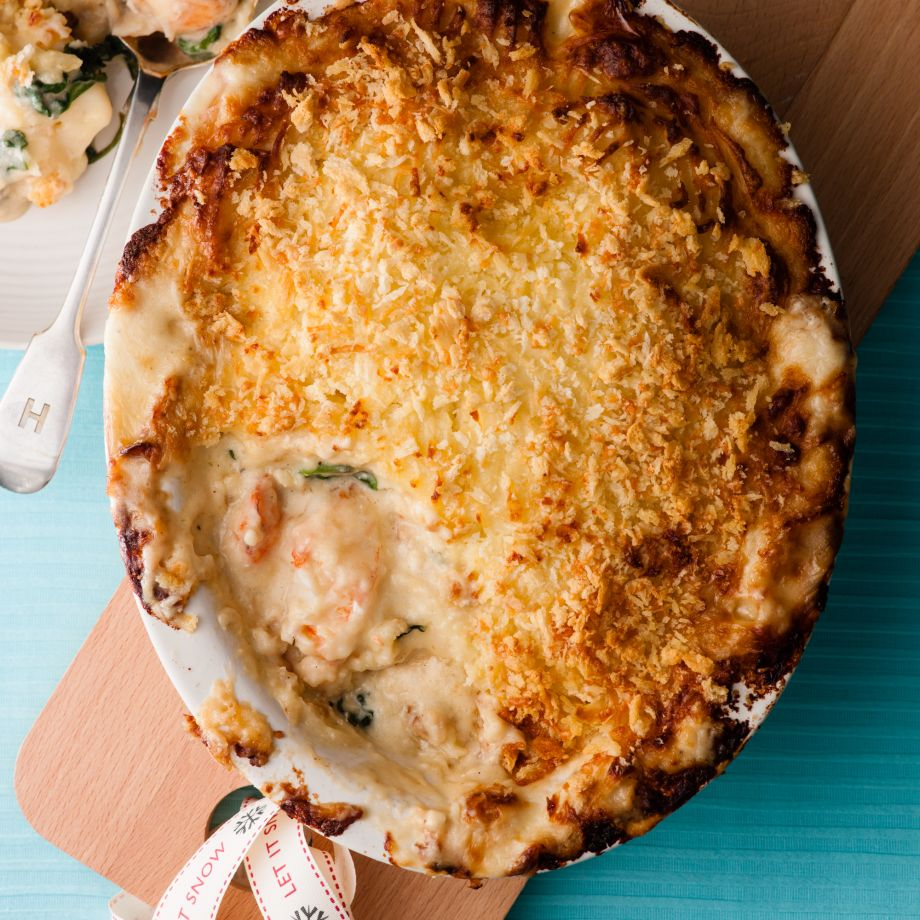 Lobster Tail And Prawn Pie   British Recipes   Woman&home