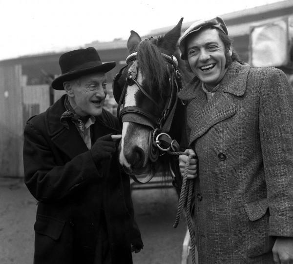 Wilfrid Brambell and Harry H Corbett