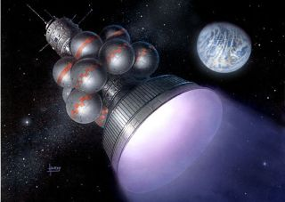 Futuristic Interstellar Space Probe Idea Revisited