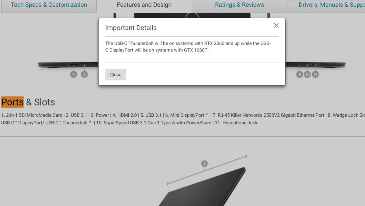 Dell seemingly leaks GTX 1660 Ti GPU for laptops (not the