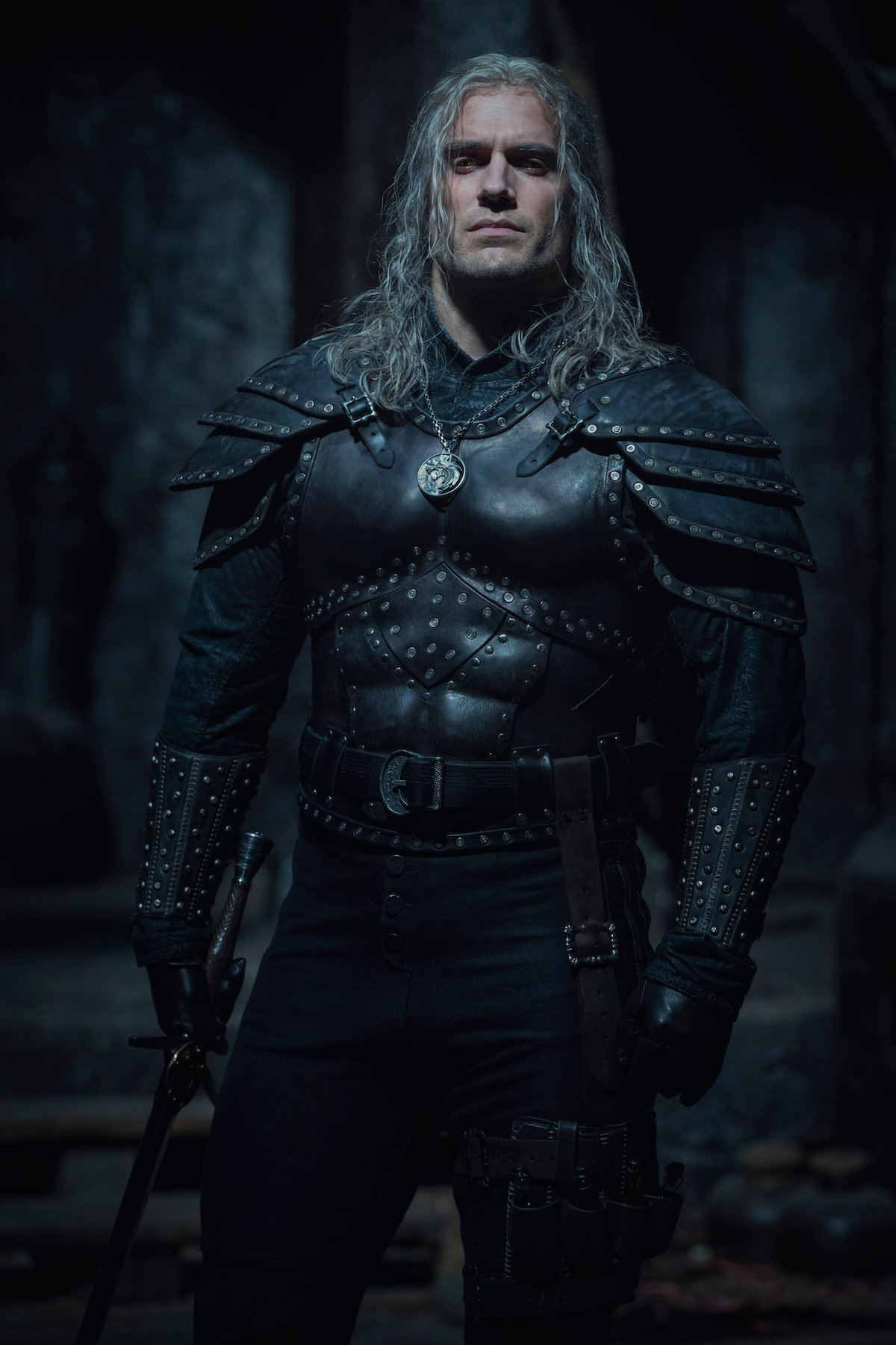 henry cavill season 2 geralt the witcher armor netflix