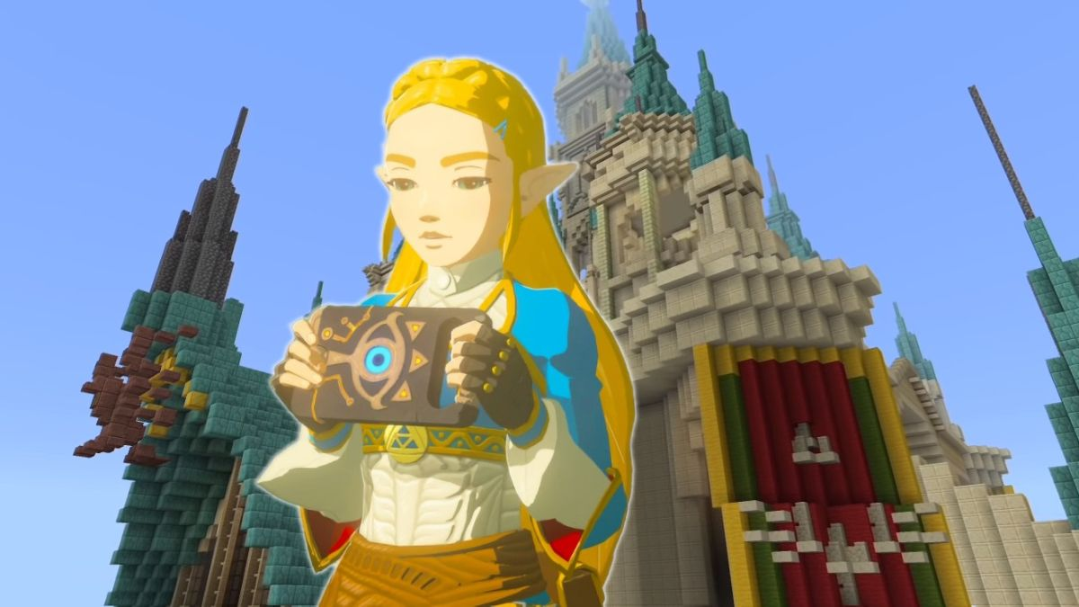 This Minecraft Remake Of Zelda Breath Of The Wild S Hyrule Castle Even Impressed Nintendo Gamesradar