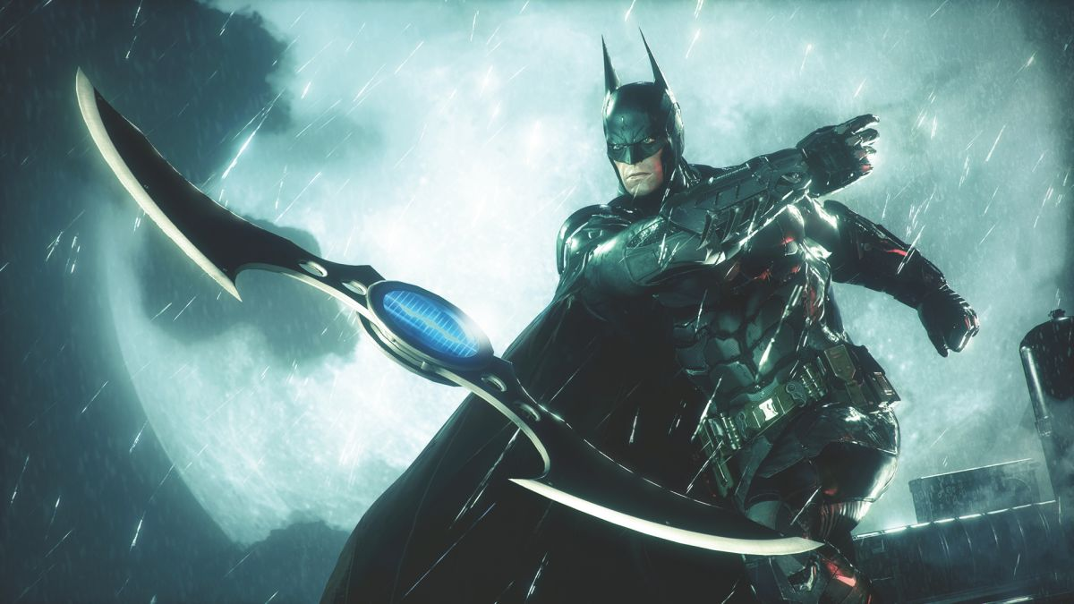 This may be the logo from the WB Montreal Batman game, and it looks a lot like Batman Beyond