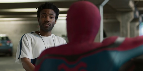 Donald Glover in Spider-Man: Homecoming