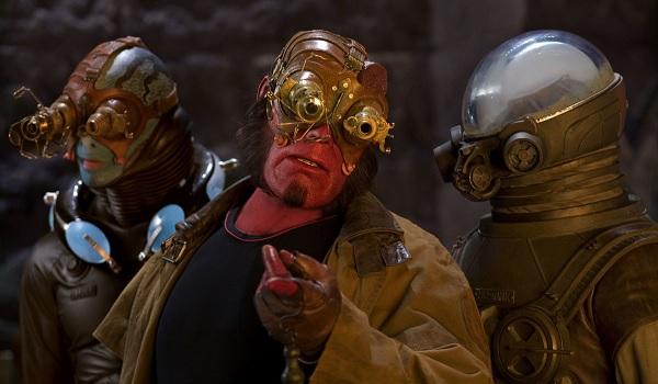 Hellboy II Abe Hellboy Krauss Line Up