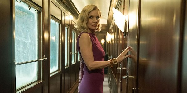 Murder on the Orient Express Michelle Pfeiffer returning to her room