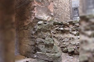This structure may be the remains of the Great Baptistery.