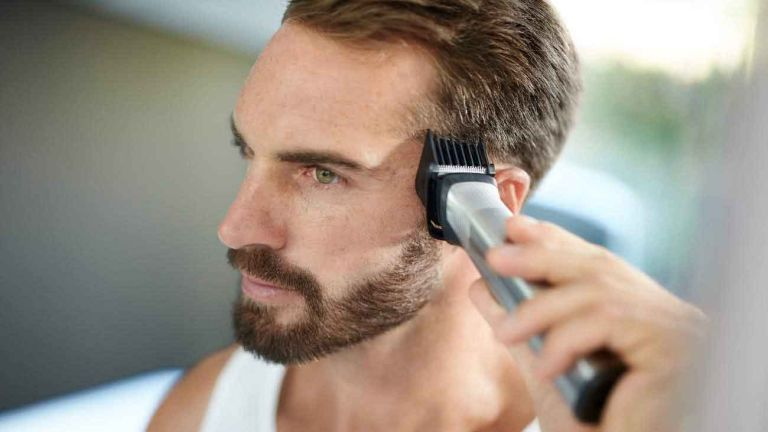 Best hair clippers: Philips Norelco Multigroom Series 7000 in use on head