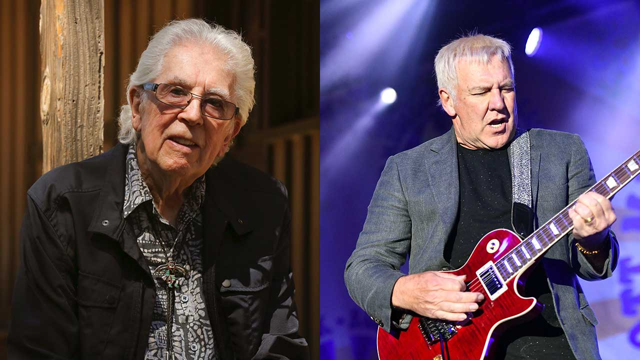John Mayall is back with a new song, and Alex Lifeson's all over it