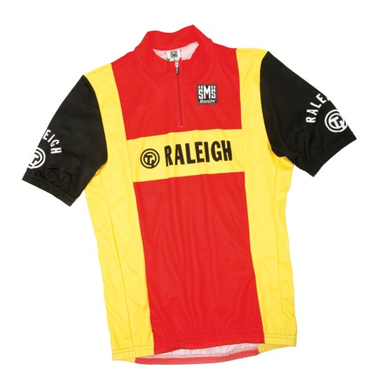 Santini retro Raleigh cycling jersey