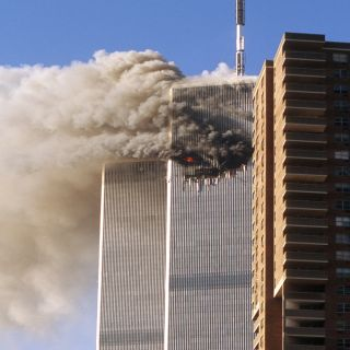 Terrorists attacked the World Trade Center and the Pentagon on Sept. 11, 2001