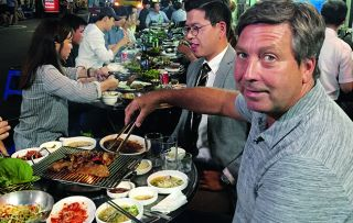 MasterChef's John Torode is on a foodie exploration of South Korea to sample its cuisine in this new series.