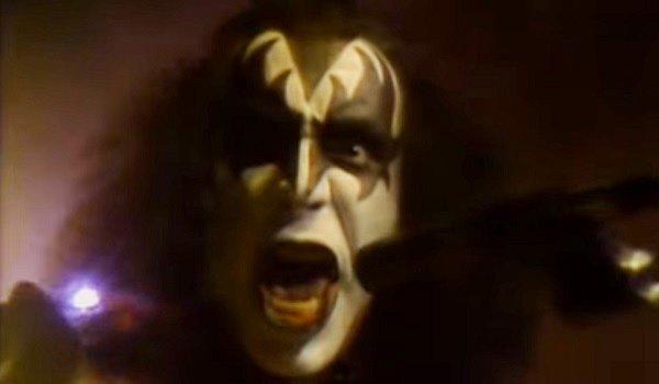 "Gene Simmons Kiss ""I Love It Loud"