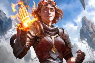 Magic card Chandra