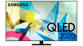 """Samsung 85"""" Q80T 4K UHD QLED Smart TV QE85Q80TAT"""