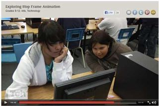 From the Classroom: Best Tech Practice Video of the Week - Stop Frame Animation