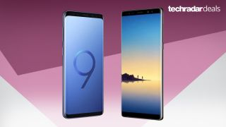 Save hundreds over the price of the Galaxy S9 Plus by going for our exclusive Note 8 deal