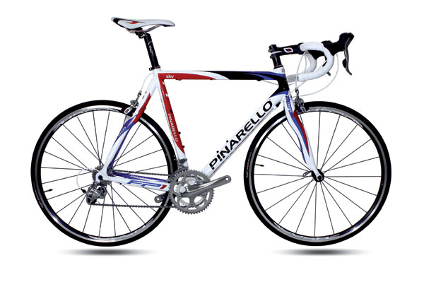 Pinarello bike, Rob Jefferies auction