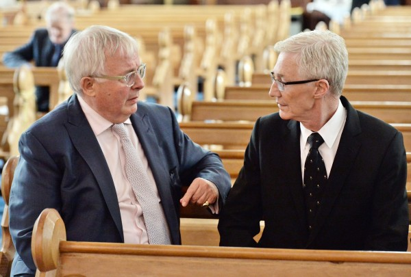 Christopher Biggins and Paul O'Grady