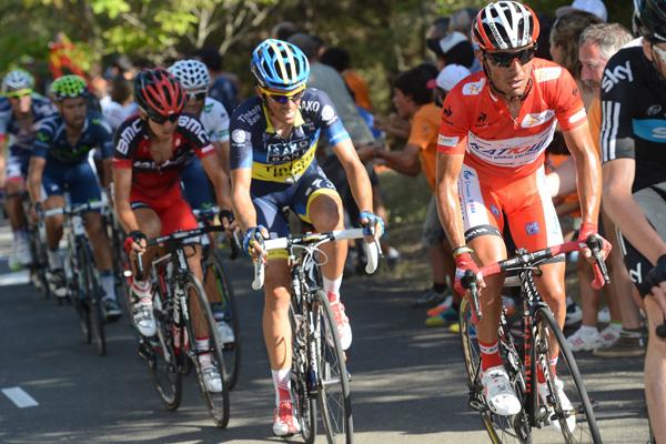 Rodriguez Contador Vuelta a Espana 2012 R
