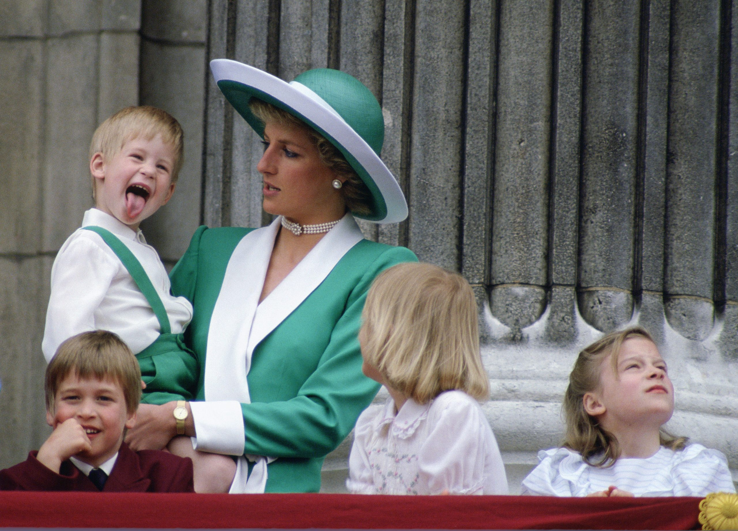 Royal fans are loving this resurfaced video of Prince Harry being told off by Princess Diana
