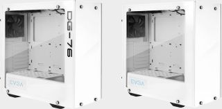 EVGA's DG-76 case in 'alpine white' is on sale for $87