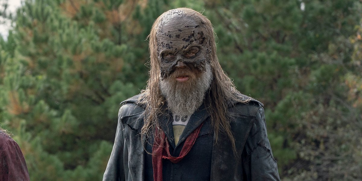 Beta from The Whisperers in The Walking Dead.
