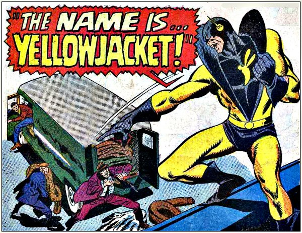 Yellow Jacket Comics