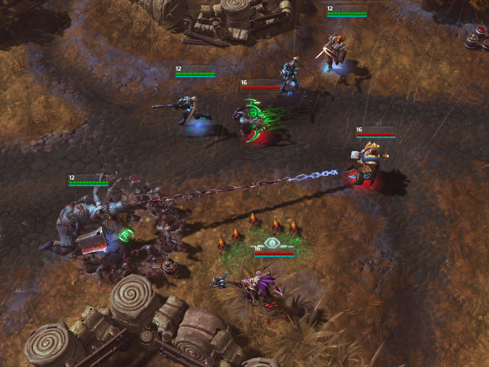 Heroes Of The Storm: Universes Collide In First Gameplay Trailer And Screenshots #29622