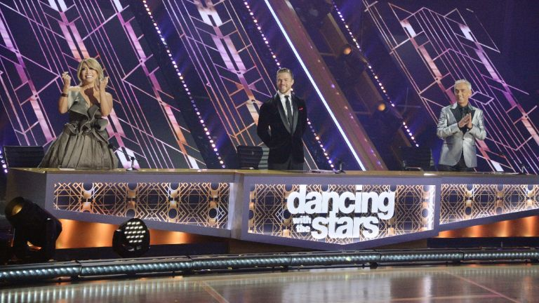 """DANCING WITH THE STARS - """"Finale"""" Four celebrity and pro-dancer couples dance and compete in the live season finale where one couple will win the coveted Mirrorball Trophy, MONDAY, NOV. 23 (8:00-10:00 p.m. EST), on ABC."""