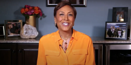 Robin Roberts Literally Peed Her Pants During An Interview, Now She's 'Relieved' To Share The Story