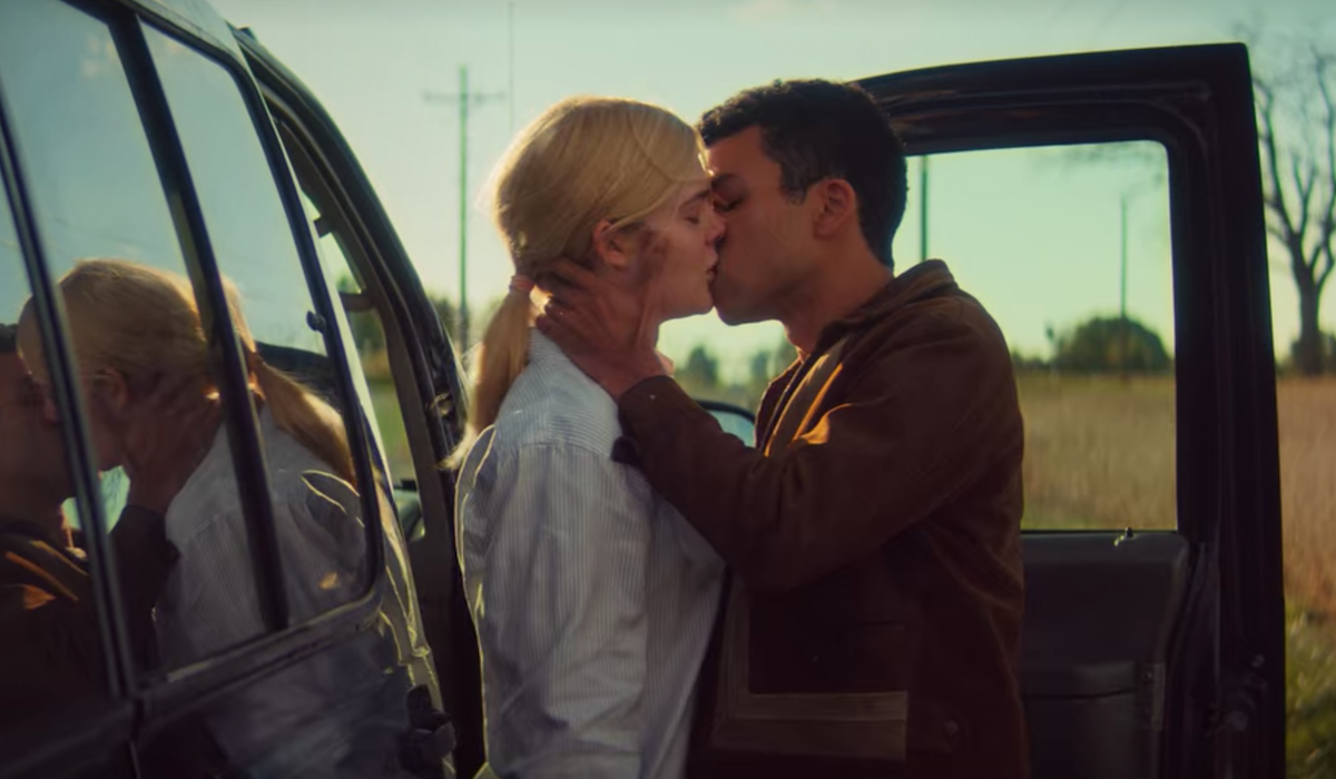 Elle Fanning and Justice Smith kiss in All The Bright Places