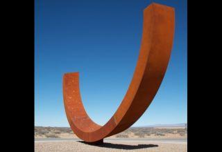 'Genesis' Sculpture at Spaceport America