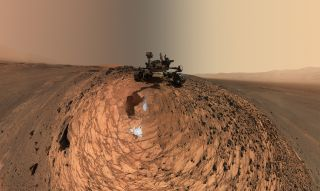 Curiosity, NASA's rover responsible for the new findings, took this self-portrait on Mars in 2015.